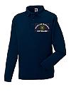 Feuerwehr-Sweatshirt mit Polokragen (Polosweat)